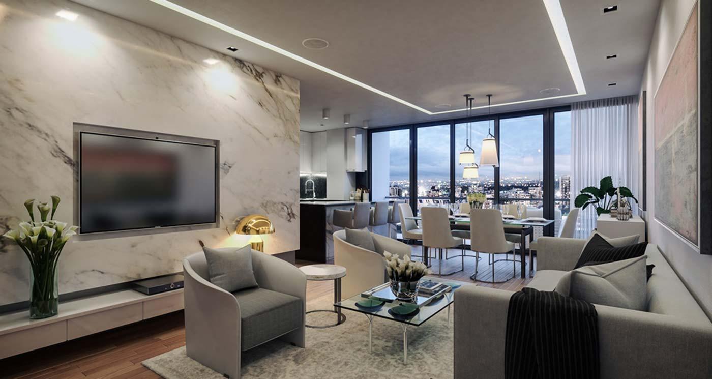 Proyecto de apartamentos TORRE RUBI NACO Condo-Hotel