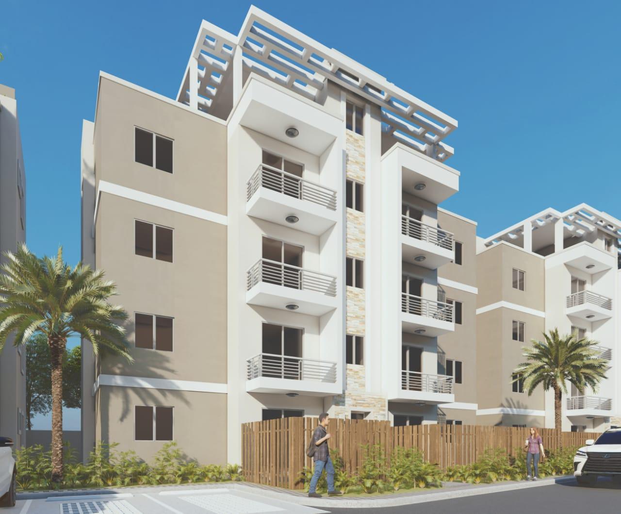 Proyecto de apartamento en Villa Aura bajo la ley de Fideicomiso inmobiliario