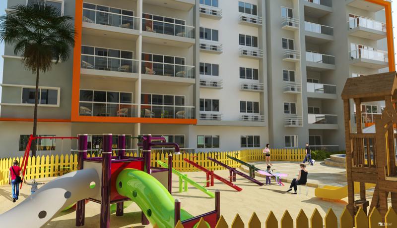 Apartamentos en construcción en la Independencia