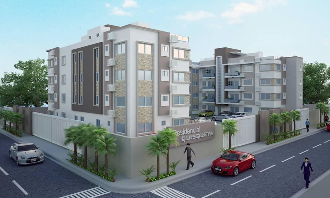 Apartamento en construcción en el Quisqueya