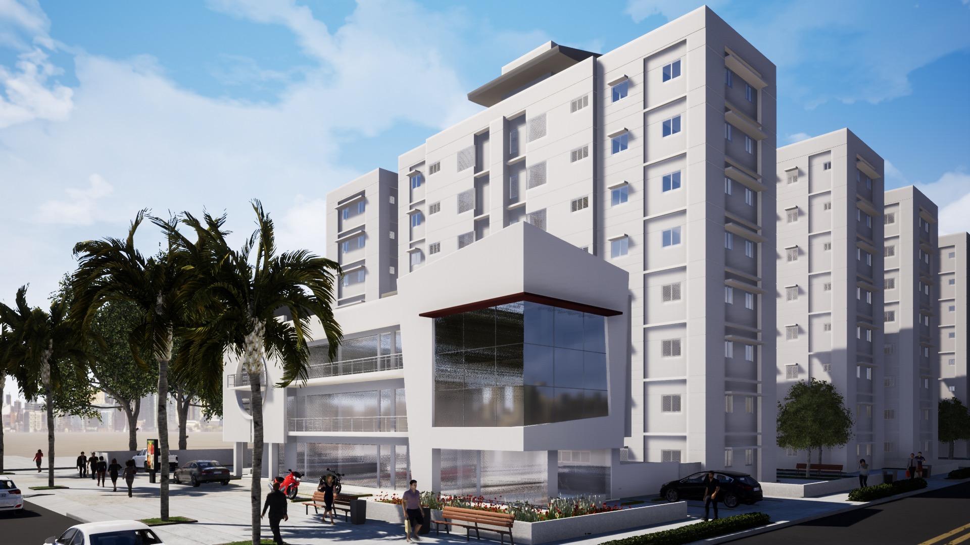 Proyecto de apartamentos en construccion La Fe