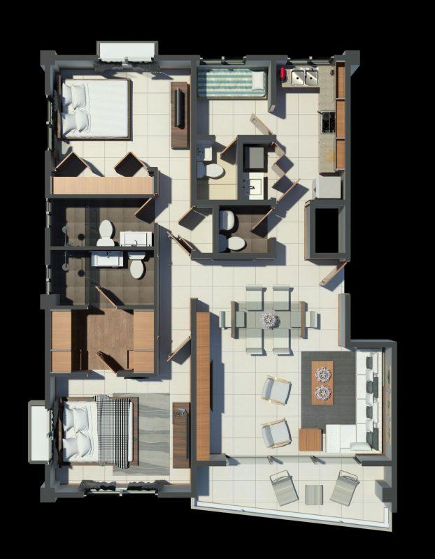 Apartamentos en construccion Urbanizacion Real, ley de fideicomiso.