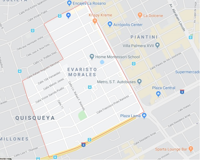 Evaristo Morales y su crecimiento Inmobiliario. Santo Domingo.