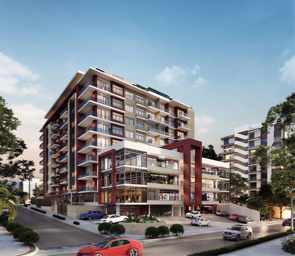 Apartamentos en construcción en Gascue