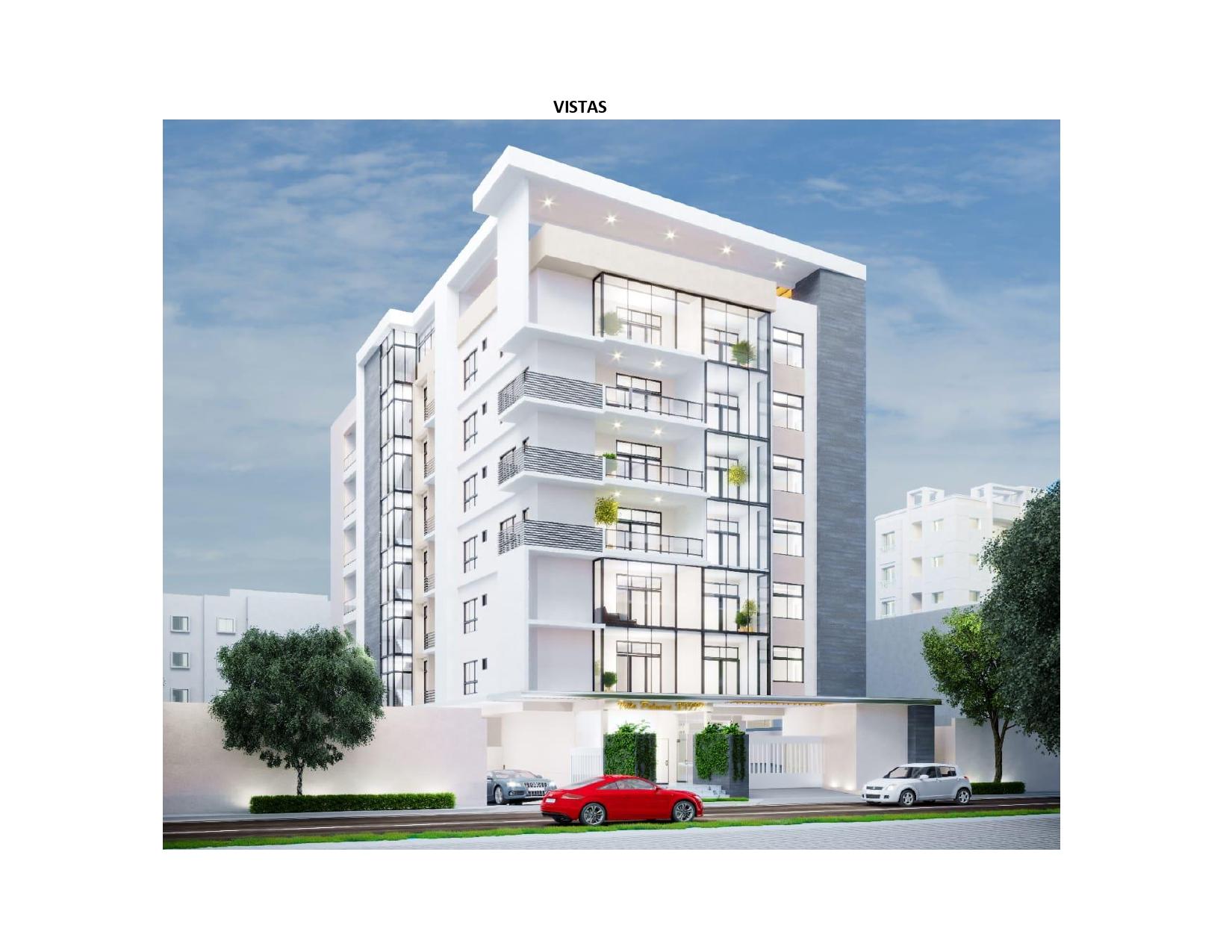 Proyecto de Apartamentos en Evaristo Morales