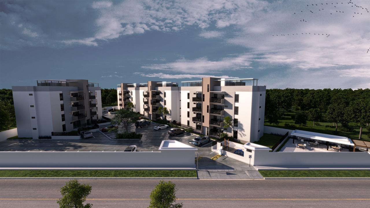 Proyecto de apartamento Ave Monumental