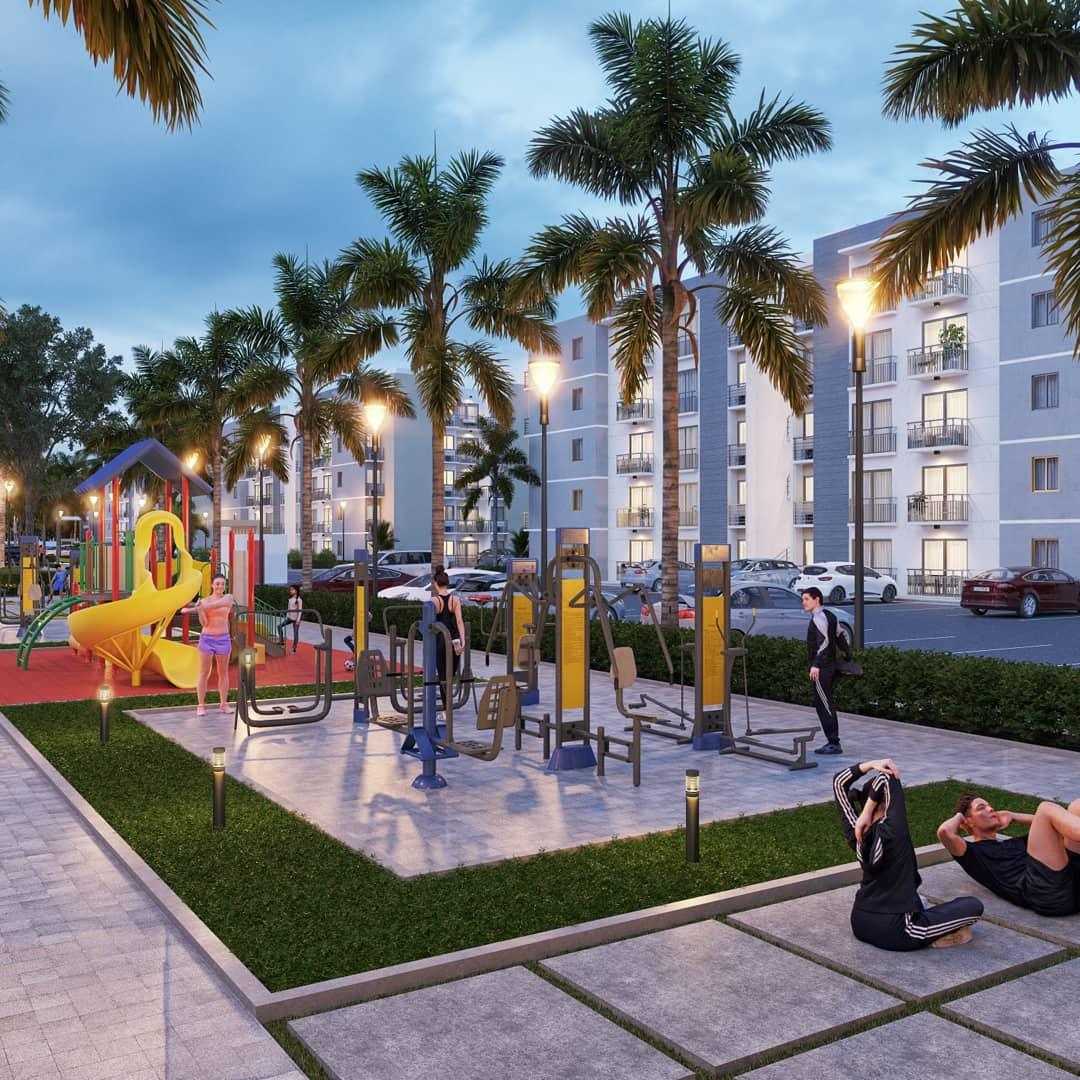 Proyecto de apartamentos en Punta Cana- Bávaro