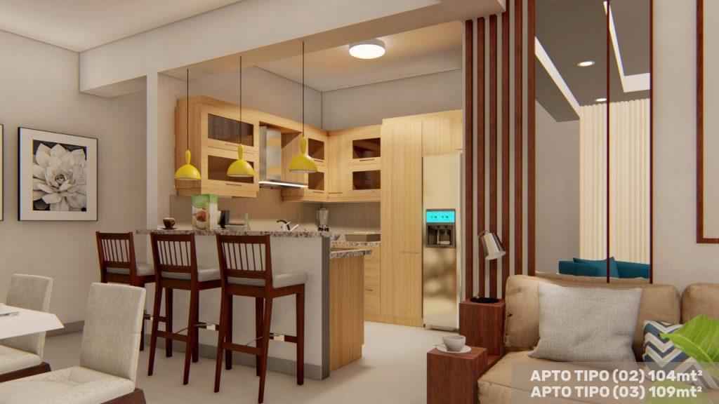 Proyecto de apartamento en Mirador Norte