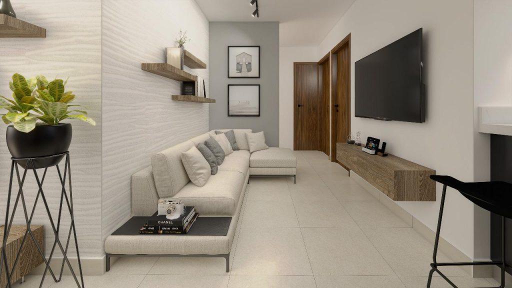 Proyecto de apartamento en la avenida Monumental