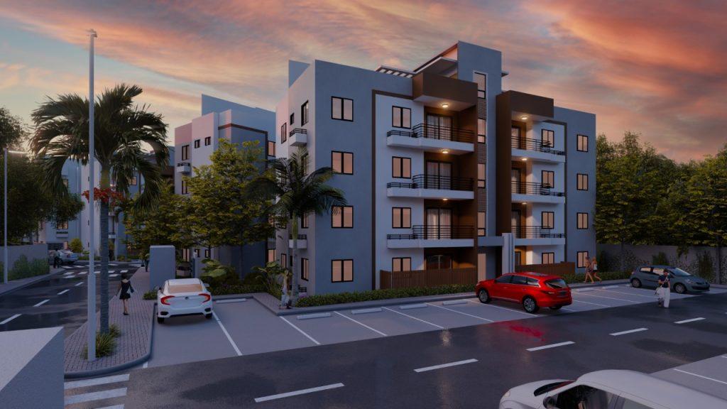 Proyecto de apartamentos en los Hidalgos
